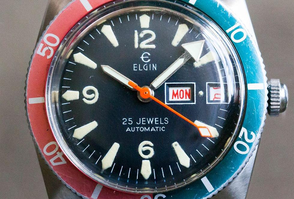 1970's Elgin Diver Pepsi (Date)