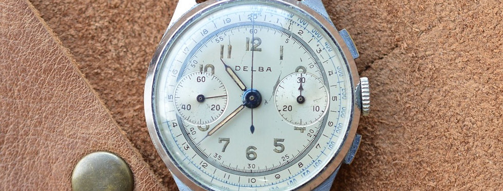 Vintage Delba Chronograph Landeron 48 Movement