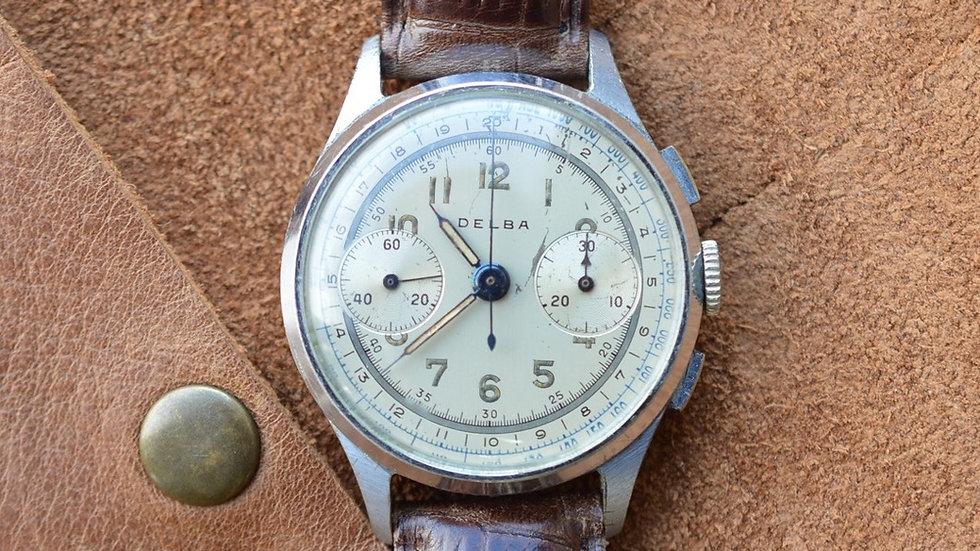 Vintage Delba Chronograph Landeron 48 Movement