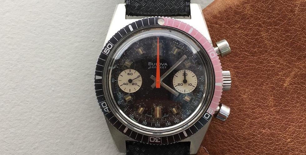 "1971 Bulova Deep Sea ""666"" Chrono Diver ""B"" (SOLD)"