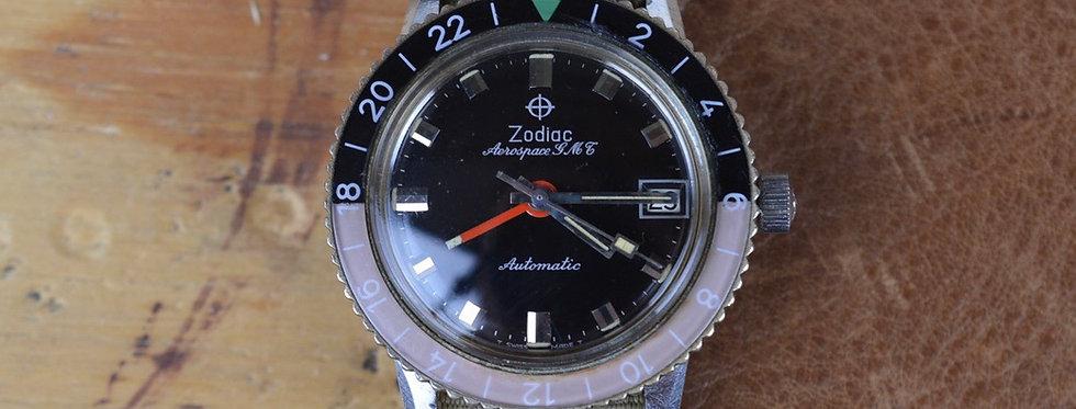 1960s Zodiac Aerospace - Coke Bezel Ref. 752 934B