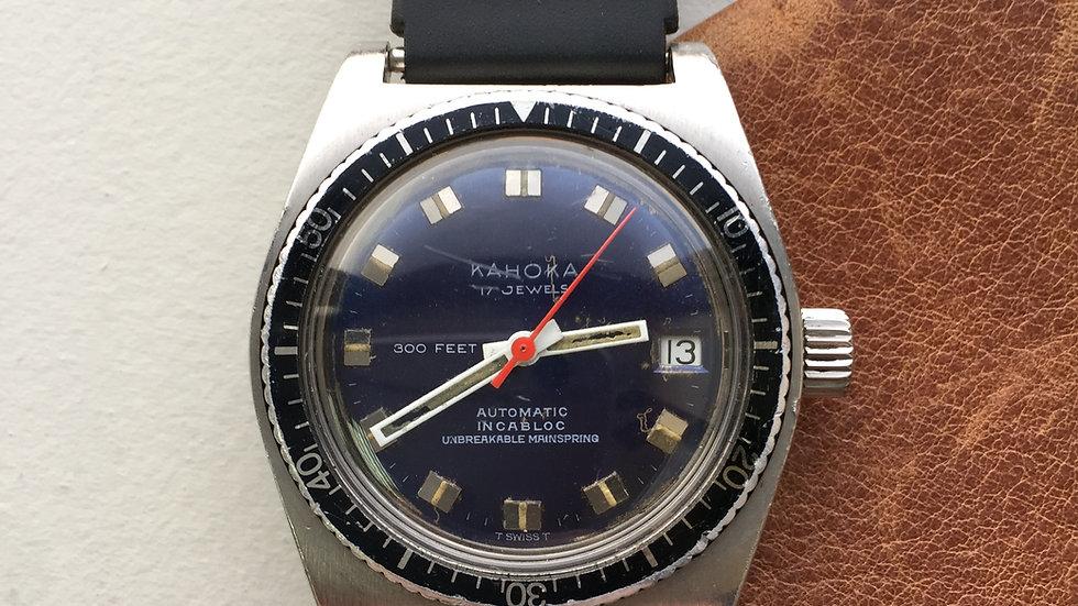 Kahoka 300ft Date Diver A. Schild Movement