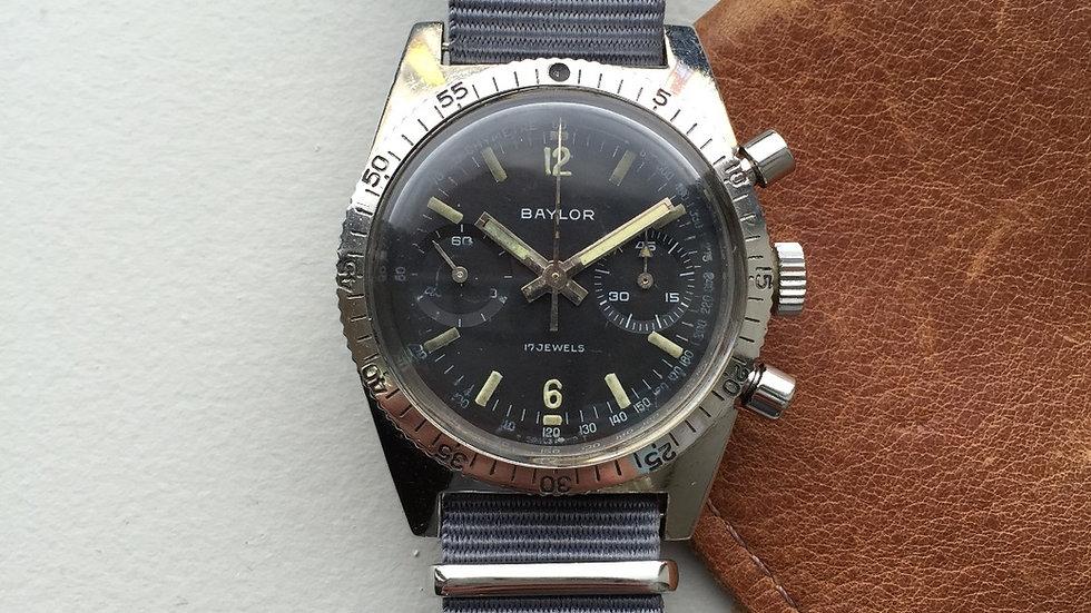 1960s Baylor Chronograph  Landeron 149