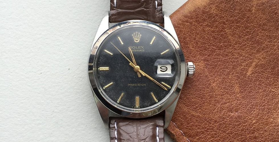 1968 Rolex 9964 Gilt Dial Oyster Date (SOLD)