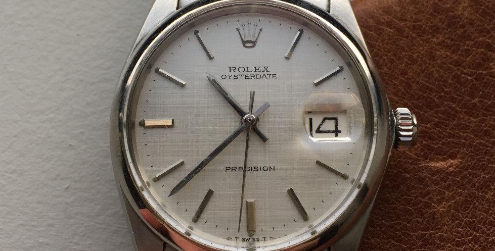 """1971 Rolex 6694 """"Linen"""""""