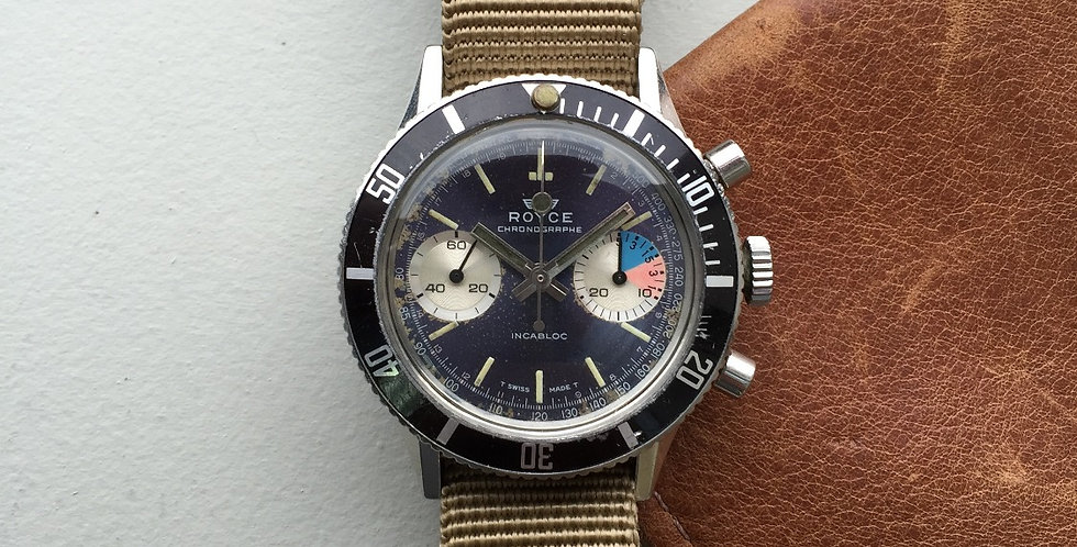 "Royce ""Yachting"" Chronograph (SOLD)"
