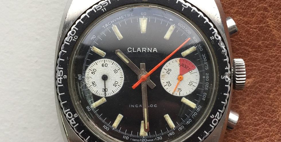 "Clarna Chronograph ""Red Ray"" Landeron 248"