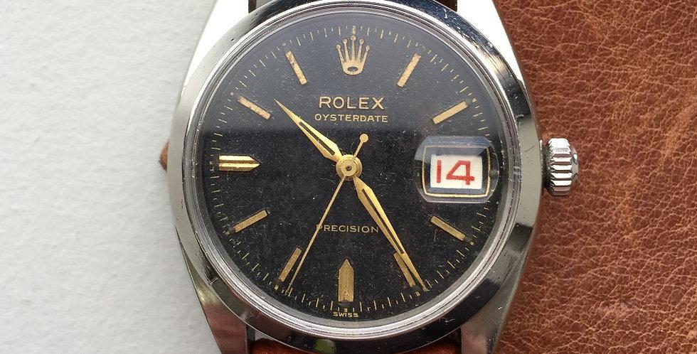 1957 Rolex 6494 Gilt Dial Dauphine Hands