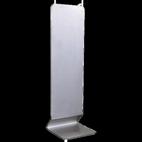 Tafelstandaard (50 cm) voor desinfectie dispenser, RVS