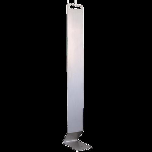 Vloerstandaard (120 cm) voor desinfectie dispenser model Gulv, RVS