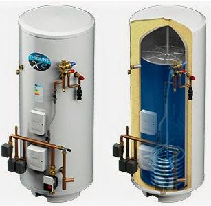 Kingspan Range Tribune XE indirect unvented cylinder