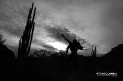 Desierto de la Tatacoa cielo