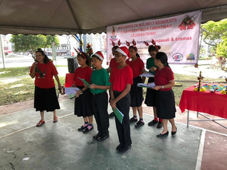 KLCRC Caroling At SS17 Community Center
