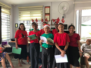 KLCRC Caroling At An Old Folks Home