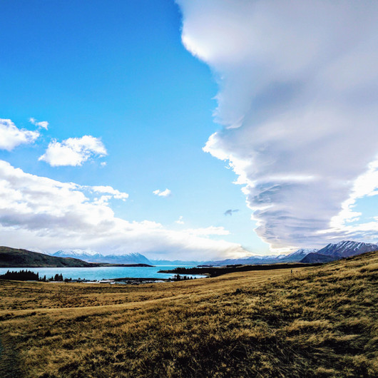 Lake Tekapo - View from Cowans Hill