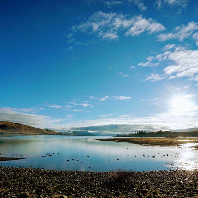 Lake Tekapo - Winter Morning