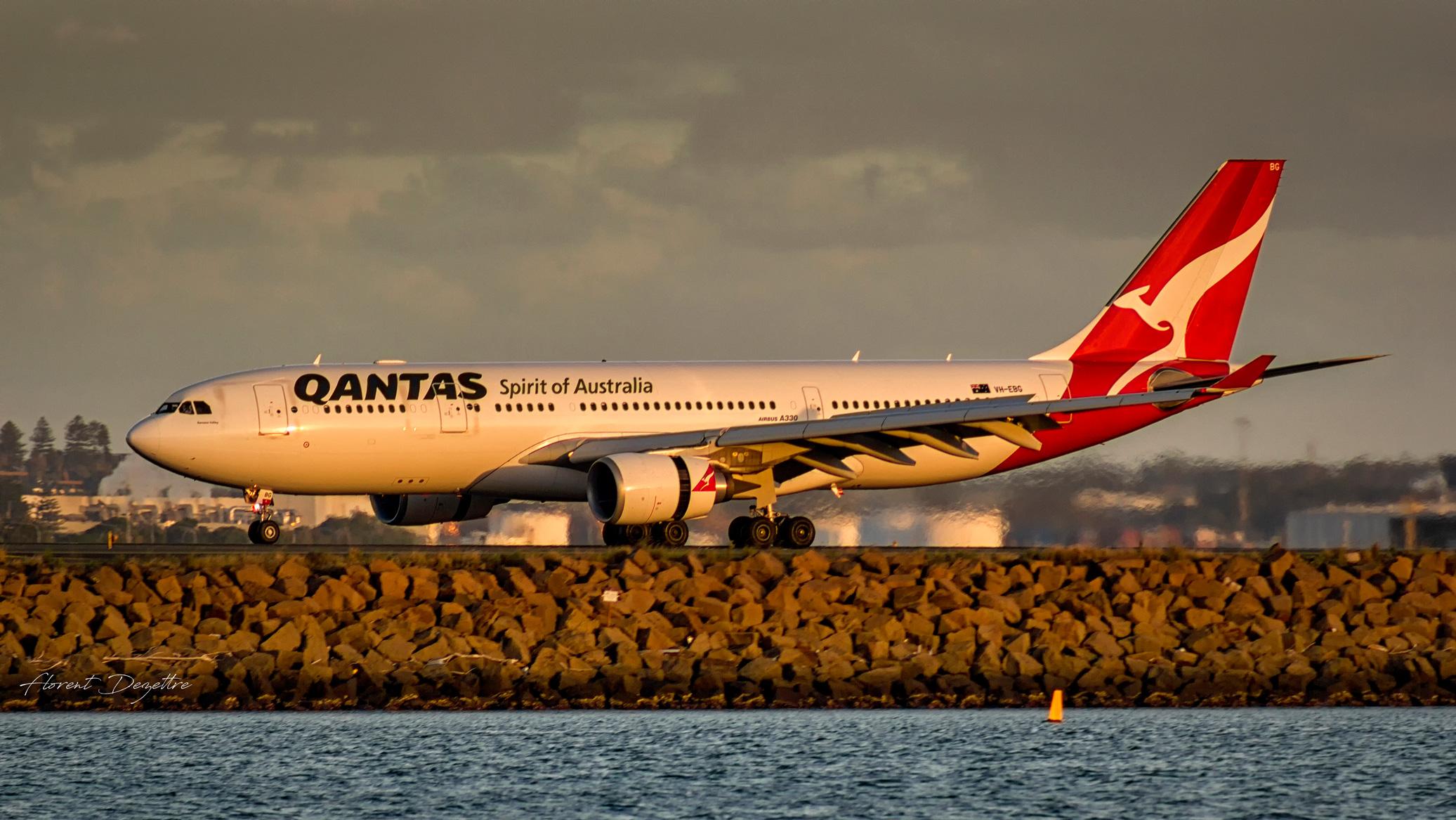 Sunset-A330
