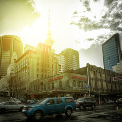 Auckland-CBD-Traffic