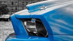 Blue-Mustang