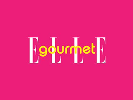 『ELLE gourmet』に掲載されました。