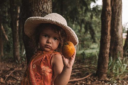 chapéu infantil de crochê leve