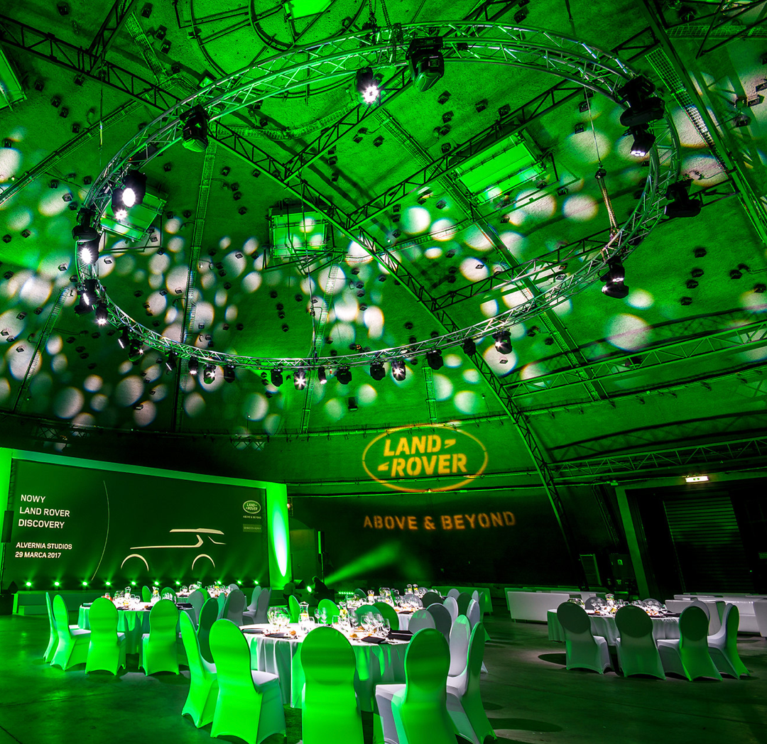 PREMIERE OF LAND ROVER DISCOVERY