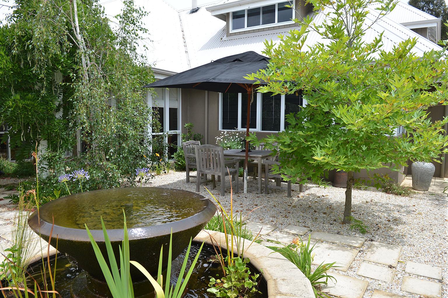 Courtyard Landscaping Yallingup