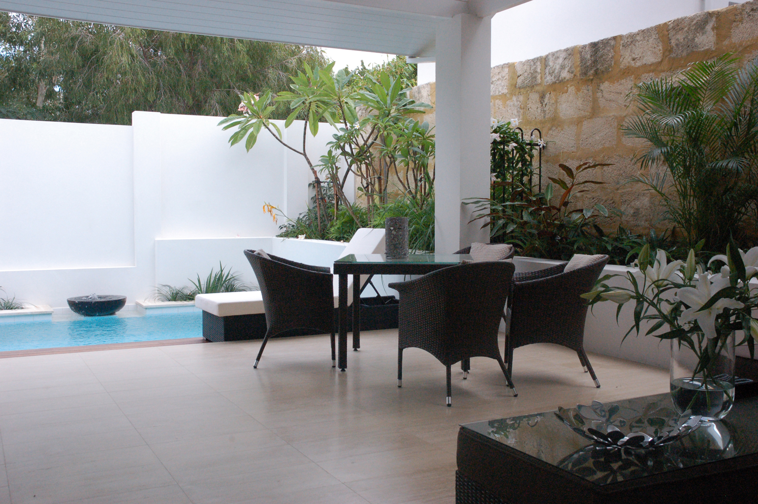 Courtyard Landscaping Swanbourne