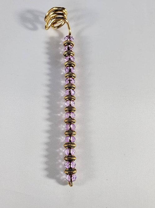 Purple Ear cuff