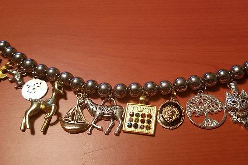 12 Tribes Charm Bracelet