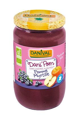 DANIVAL -Dani'Pom Myrtille 700g