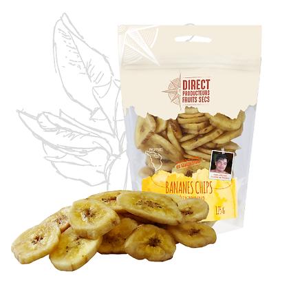 DIRECT PRODUCTEURS - Bananes Chips 125g