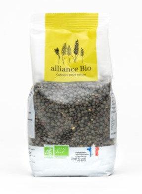 ALLIANCE BIO - Lentilles Vertes 500g