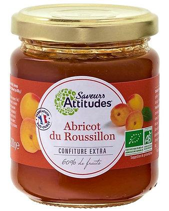 SAVEURS ATTITUDES - Confiture Abricot 220g