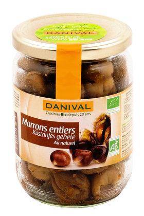 DANIVAL - Marrons Entiers 320g