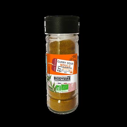 BIODYSSÉE - Curry Doux Moulu 30g