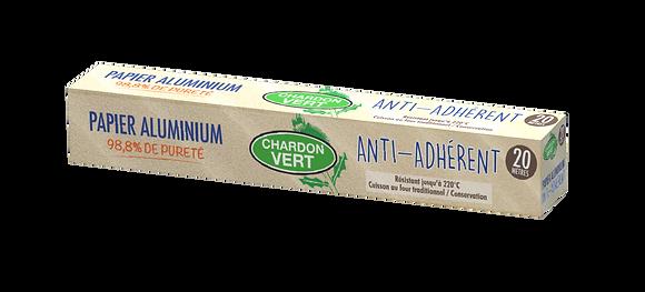 CHARDON VERT - Papier Aluminium 20m