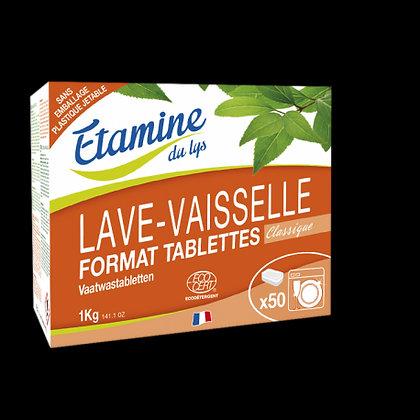 ETAMINE DU LYS - Tablettes Lave-Vaisselle x50