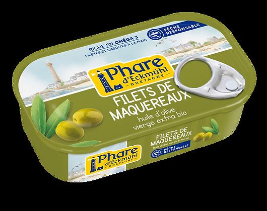 PHARE D'ECKMÜHL - Filets Maquereaux Huile Olive 118g
