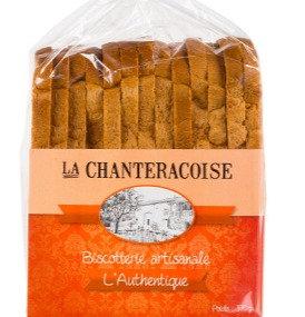 LA CHANTERACOISE - Biscottes Natures l'Authentique 280g