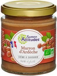 SAVEURS ATTITUDES - Crème Marron 220g