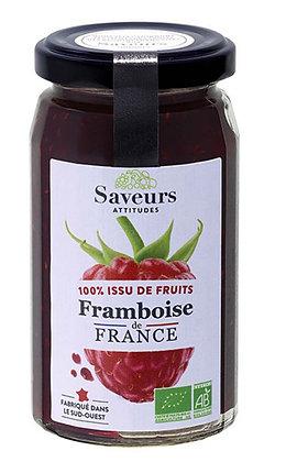 SAVEURS ATTITUDES - 100% Framboise 240g