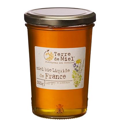 TERRE DE MIEL - Miel Fleurs Liquide 500g