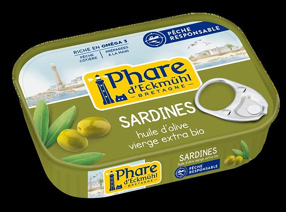 PHARE D'ECKMÜHL - Sardines Huile Olive 135g