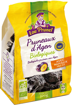 LOU PRUNEL - Pruneaux Avec Noyaux 500g