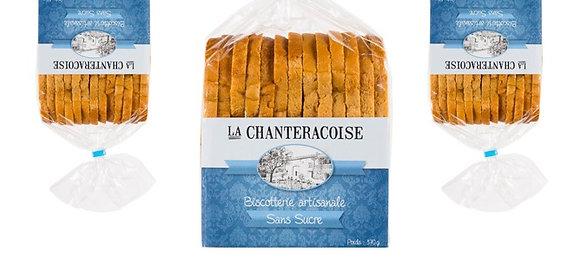LA CHANTERACOISE - Biscottes Sans Sucre 280g