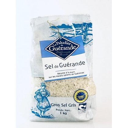 LE PALUDIER DE GUÉRANDE - Gros Sel Sachet 1Kg