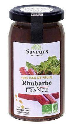 SAVEURS ATTITUDES - 100% Rhubarbe 240g