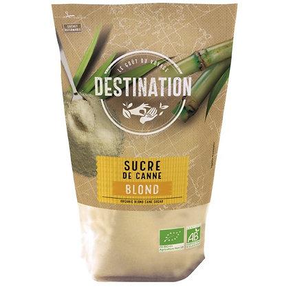 DESTINATION - Sucre de Canne Blond 1kg