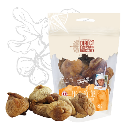 DIRECT PRODUCTEURS - Figues Séchées 250g
